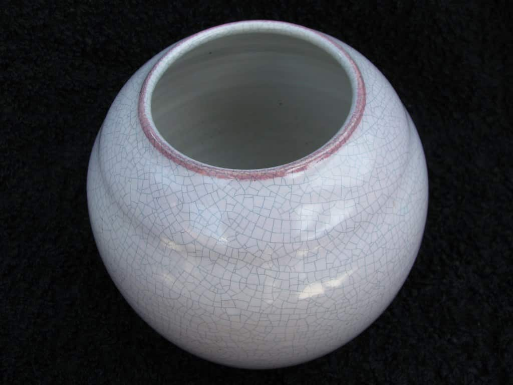 Modernistic twenties vase by Mobach-2