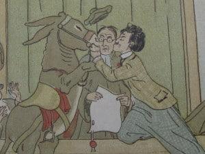 Picture-book BILLIE RITCHIE EN ZIJN EZEL by David Bueno de Mesquita 1918-4