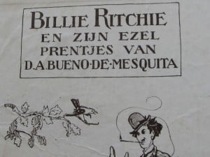 Picture-book BILLIE RITCHIE EN ZIJN EZEL by David Bueno de Mesquita 1918-5