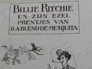 Picture-book BILLIE RITCHIE EN ZIJN EZEL by David Bueno de Mesquita 1918-5