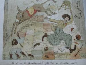 Picture-book BILLIE RITCHIE EN ZIJN EZEL by David Bueno de Mesquita 1918-6
