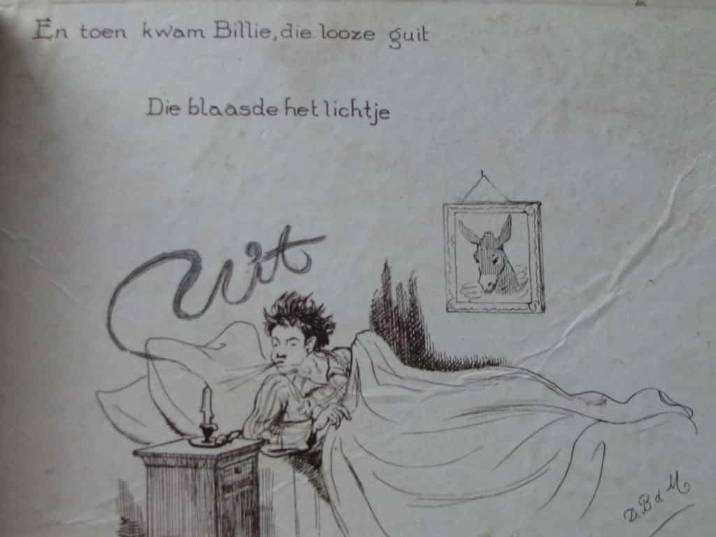 Picture-book BILLIE RITCHIE EN ZIJN EZEL by David Bueno de Mesquita 1918-7