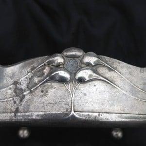 Pewter art nouveau dish by Orivit-2