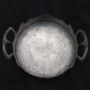 Pewter art nouveau dish by Orivit-3