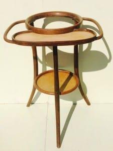 Thonet bentwood washstand from around 1900-1