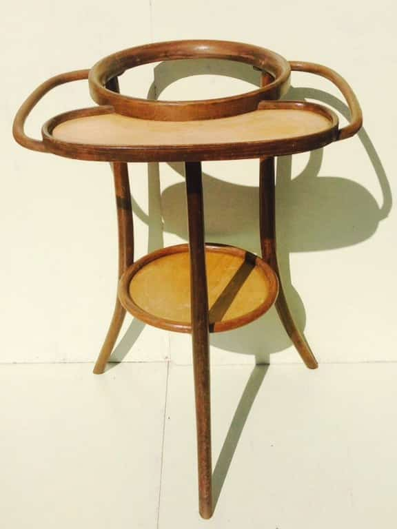 Thonet bentwood washstand from around 1900-1