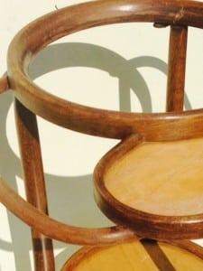 Thonet bentwood washstand from around 1900-3