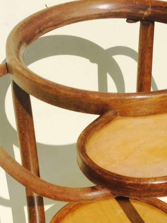 Thonet bentwood washstand from around 1900-3