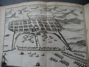 Aantekeningen der Gallische, Burgerlyke, Alexandrynsche, Africaansche, en Hispanische oorlogen door Julius Ceasar 1709-10