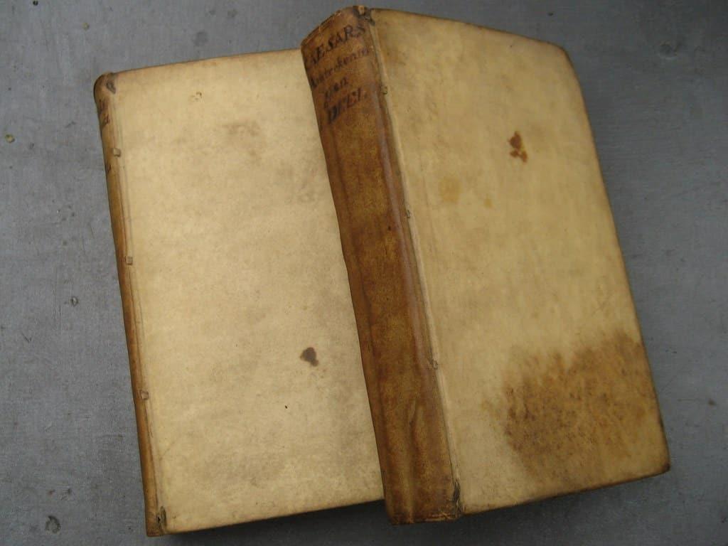 Aantekeningen der Gallische, Burgerlyke, Alexandrynsche, Africaansche, en Hispanische oorlogen door Julius Ceasar 1709-11
