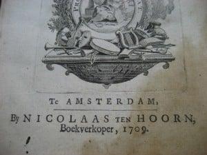 Aantekeningen der Gallische, Burgerlyke, Alexandrynsche, Africaansche, en Hispanische oorlogen door Julius Ceasar 1709-4