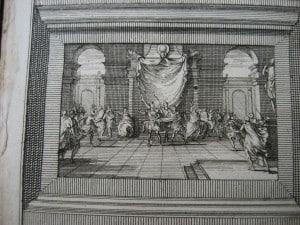 Aantekeningen der Gallische, Burgerlyke, Alexandrynsche, Africaansche, en Hispanische oorlogen door Julius Ceasar 1709-5
