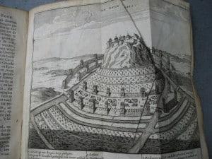 Aantekeningen der Gallische, Burgerlyke, Alexandrynsche, Africaansche, en Hispanische oorlogen door Julius Ceasar 1709-8
