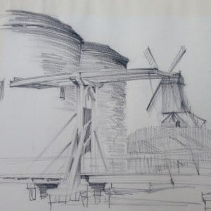 La Porte Sainte-Croix door Hans de Lussanet-3