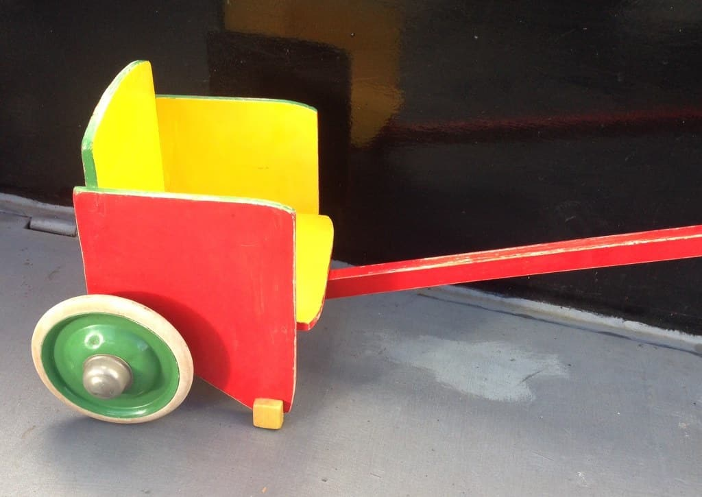 ADO poppenwagen (sulky) door Ko Verzuu