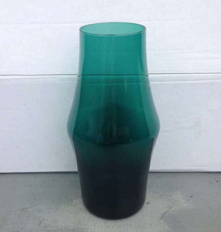Green vase by Floris Meydam for Leerdam-1