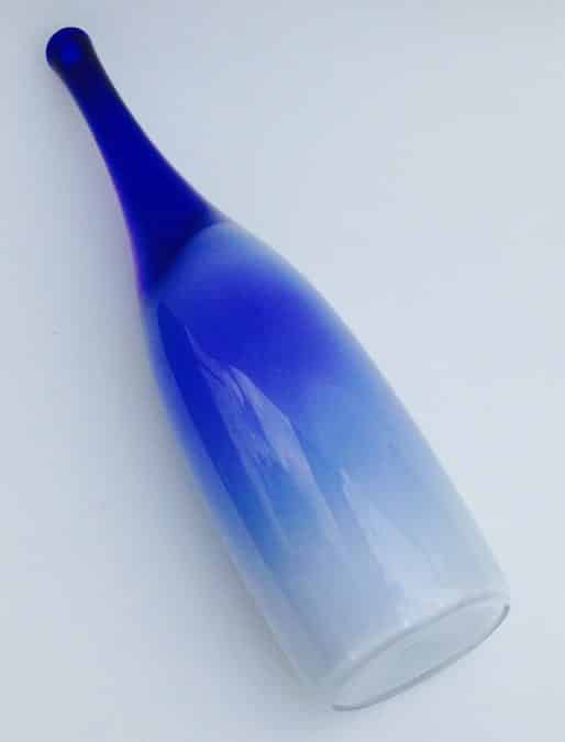 BLUE WHITE SERICA BOTTLE BY FLORIS MEYDAM FROM 1953
