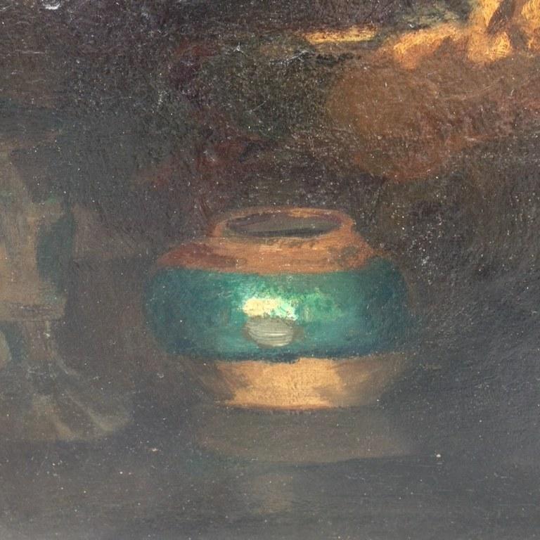 Vroeg stilleven met verborgen zelfportret van Kees van Urk-2