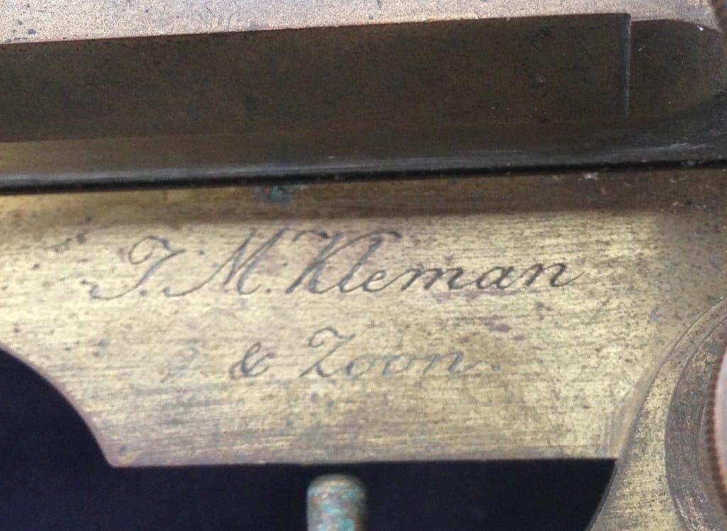 Antique Dutch brass measuring instrument of Kleman & Zoon-2