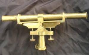 Antique Dutch brass measuring instrument of Kleman & Zoon-3
