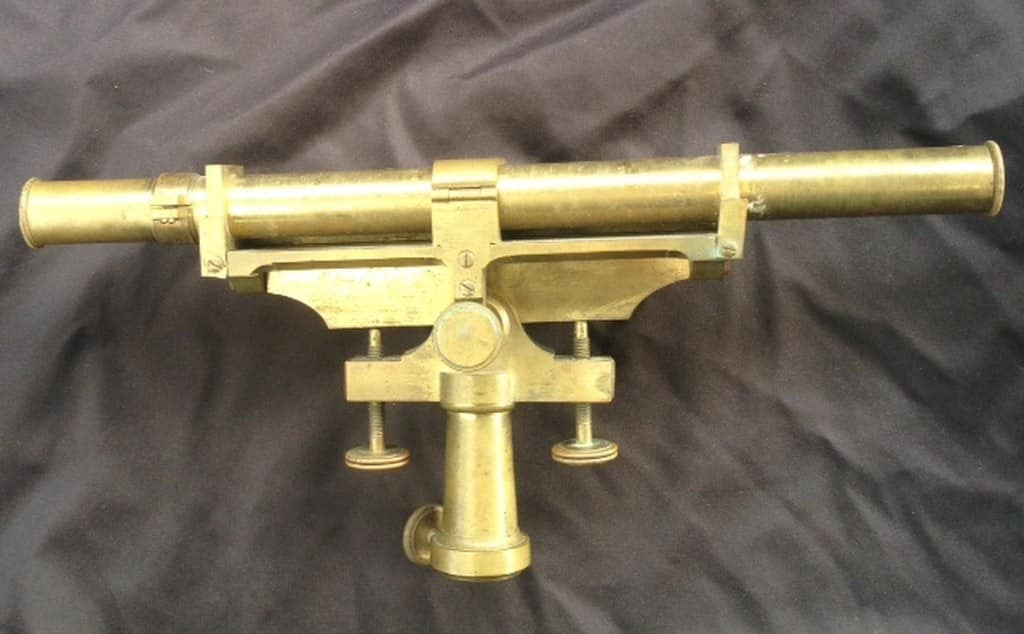 Antique Dutch brass measuring instrument of Kleman & Zoon-3