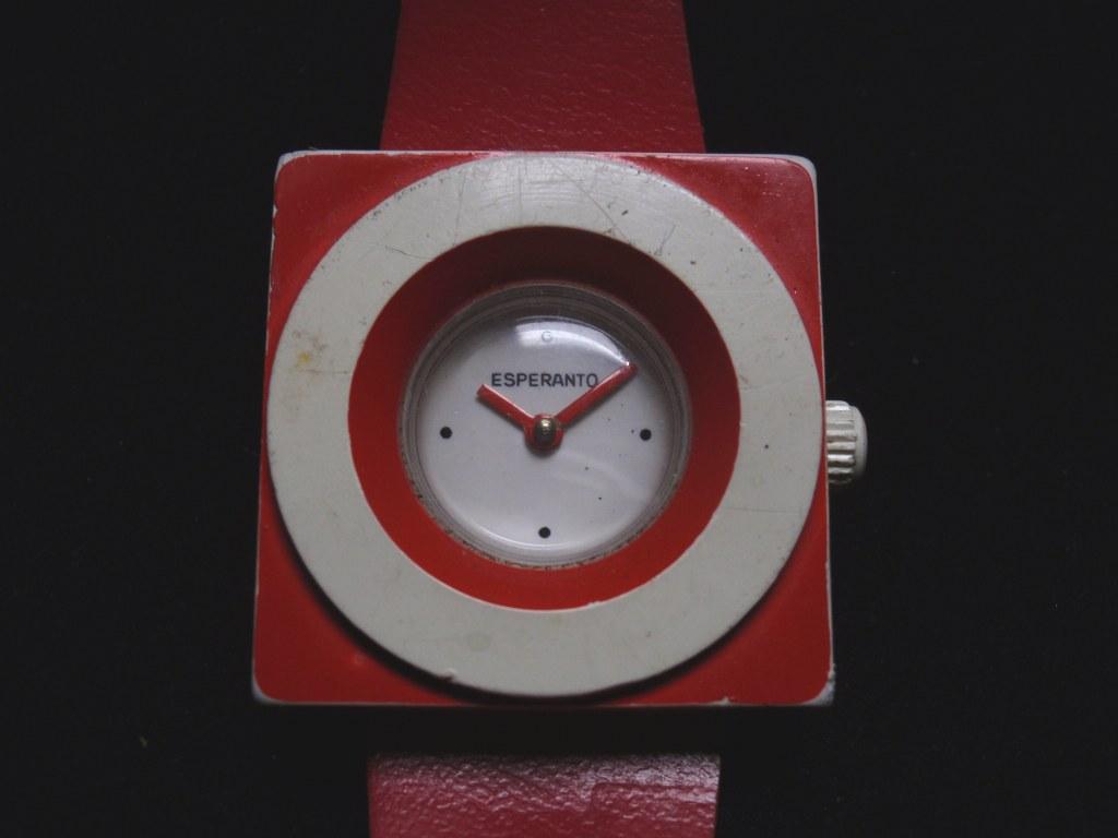 Horloge Esperanto