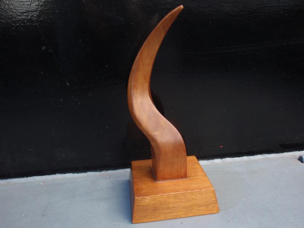 Houten sculptuur Jan Bouten 1969