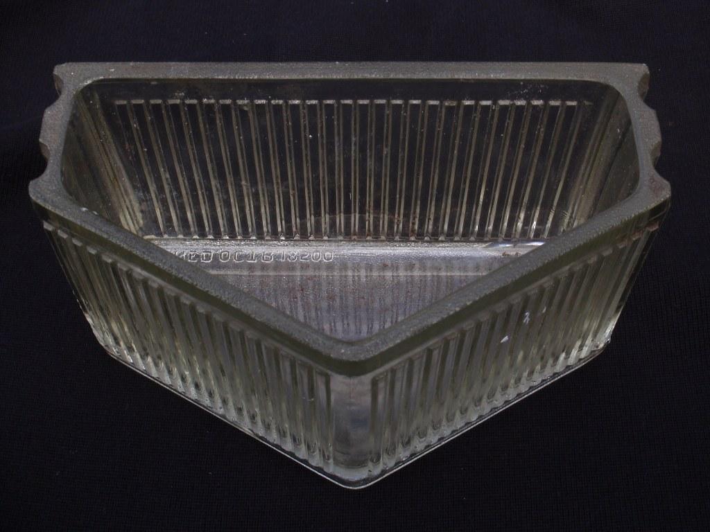 Glazen bouwsteen van Berlage/Leerdam