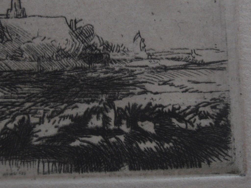 Ets/droge naald door Rembrandt Harmensz. van Rijn (1648-1652)