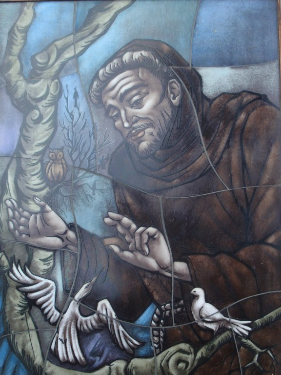 Opaline/vermurail Franciscus van Assisi