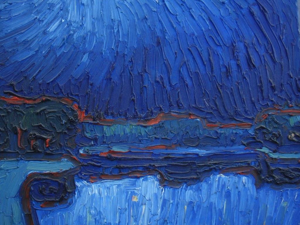 Maangezicht door Frits Drent
