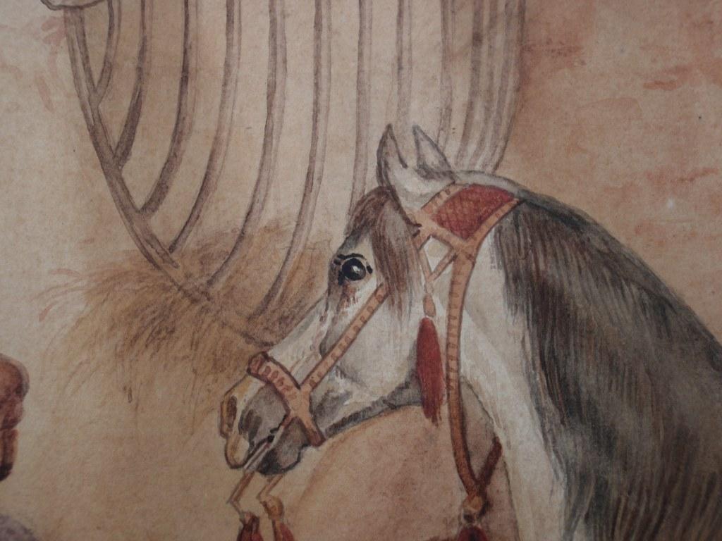 Circuspaard achter de coulissen Otto Eerelman