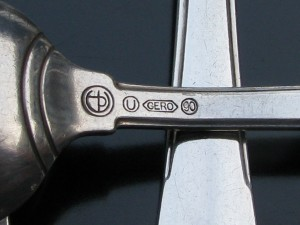Eisenloeffel silver-plated GERO cutlery 1929-1