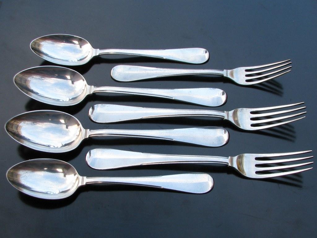 Eisenloeffel silver-plated GERO cutlery 1929