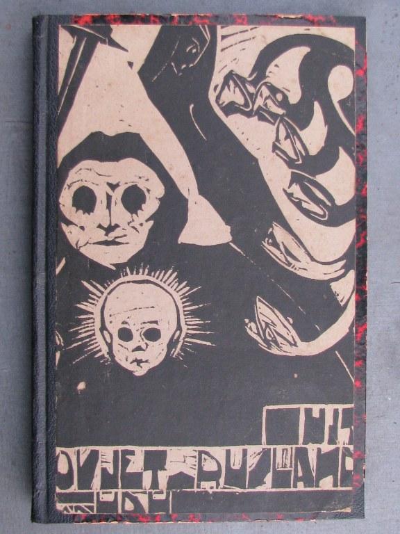 Book with original woodcut by Hildo Krop