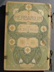 Art nouveau Herbarium by Siderius 1900-1