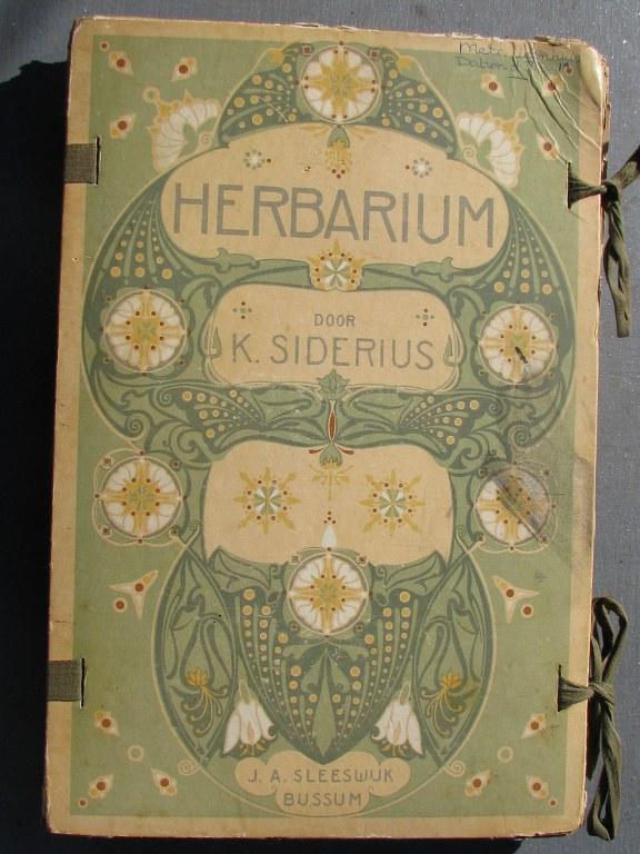 Art nouveau Herbarium by Siderius 1900