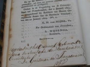 Verzameling verordeningen en veerreglementen van Leeuwarden-1