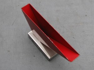 Metal letter holder by Wim Rietveld 1960-1