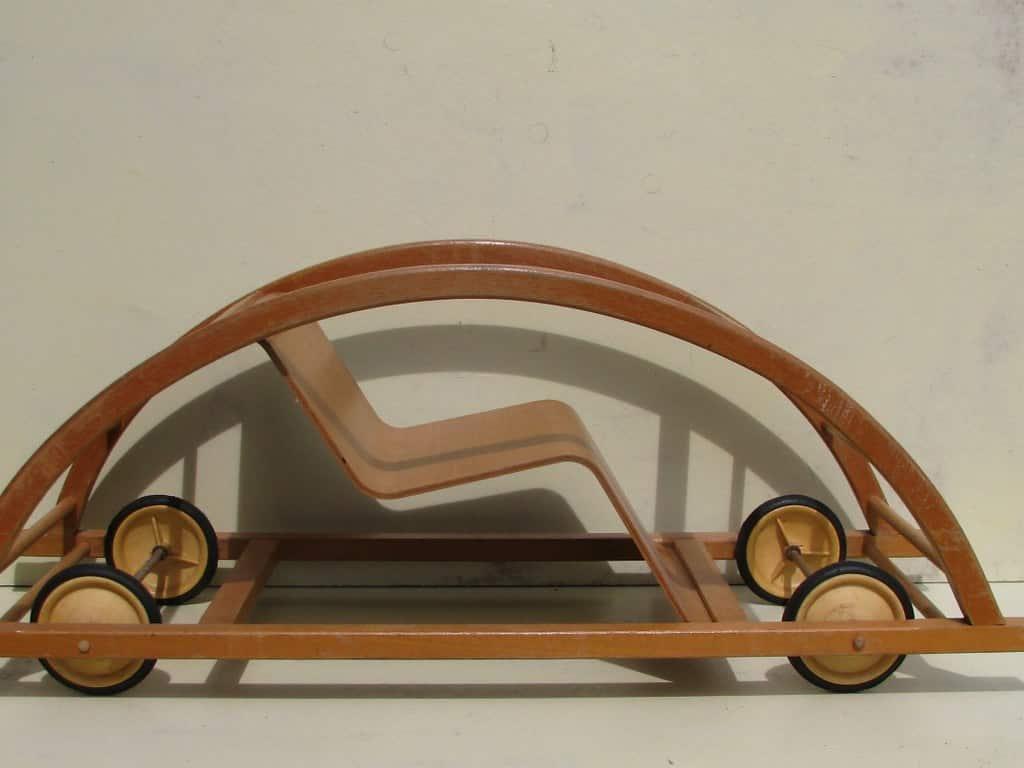 Rocking car by Brockhage and Andrä 1950