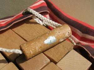 Fifties bag with wooden blocks ('blokkenzak') of ADO by Ko Verzuu-2