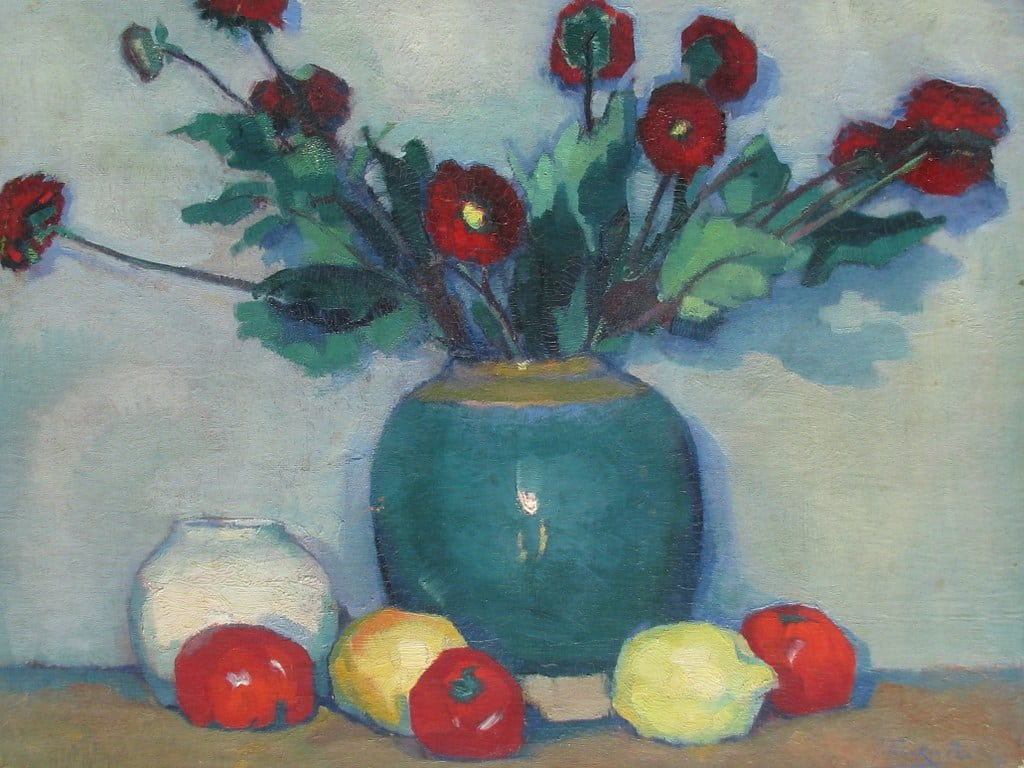 Still life with flowers by Jan Pieterszoon Franken 1919