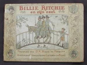 Picture-book BILLIE RITCHIE EN ZIJN EZEL by David Bueno de Mesquita 1918-1