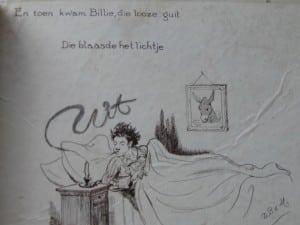 Picture-book BILLIE RITCHIE EN ZIJN EZEL by David Bueno de Mesquita 1918-7