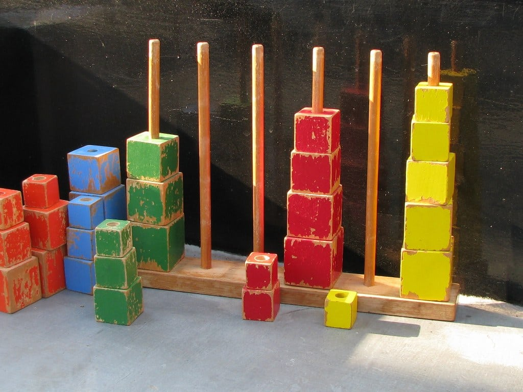 Stapelconstructie met blokken toegeschreven aan ADO Ko Verzuu