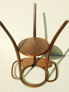 Thonet bentwood washstand from around 1900-5
