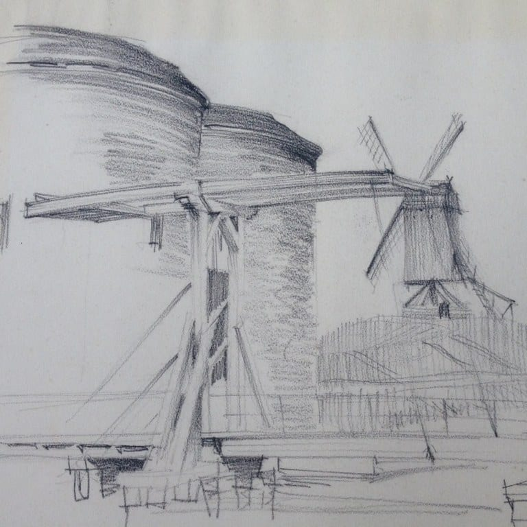 La Porte Sainte-Croix door Hans de Lussanet