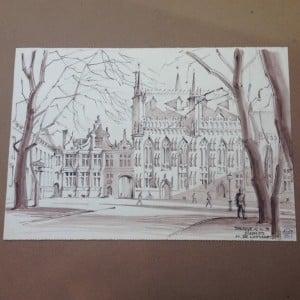 Stadhuis van Brugge door Hans de Lussanet-1