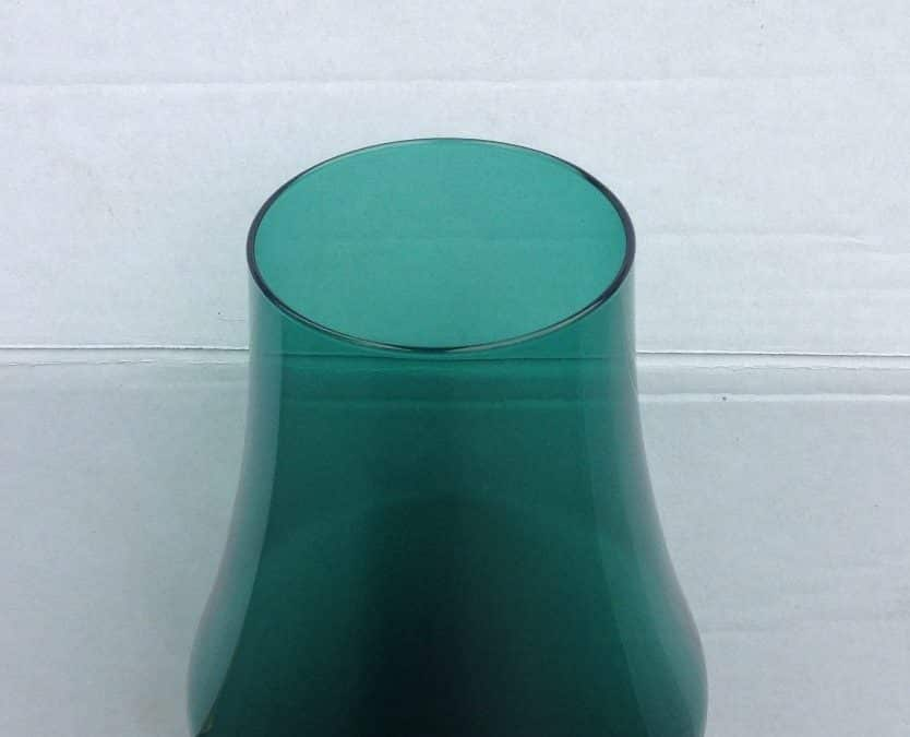GREEN VASE BY FLORIS MEYDAM FOR LEERDAM