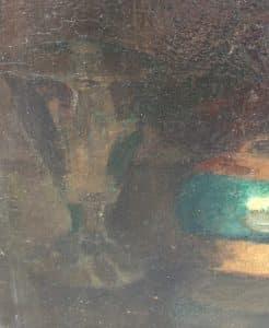 Vroeg stilleven met verborgen zelfportret van Kees van Urk-5